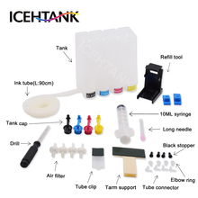 ICEHTANK Ciss Ink Tank For Canon MG2540 MG2540S MG 2540 2540S Ink Cartridge For Canon PIXMA
