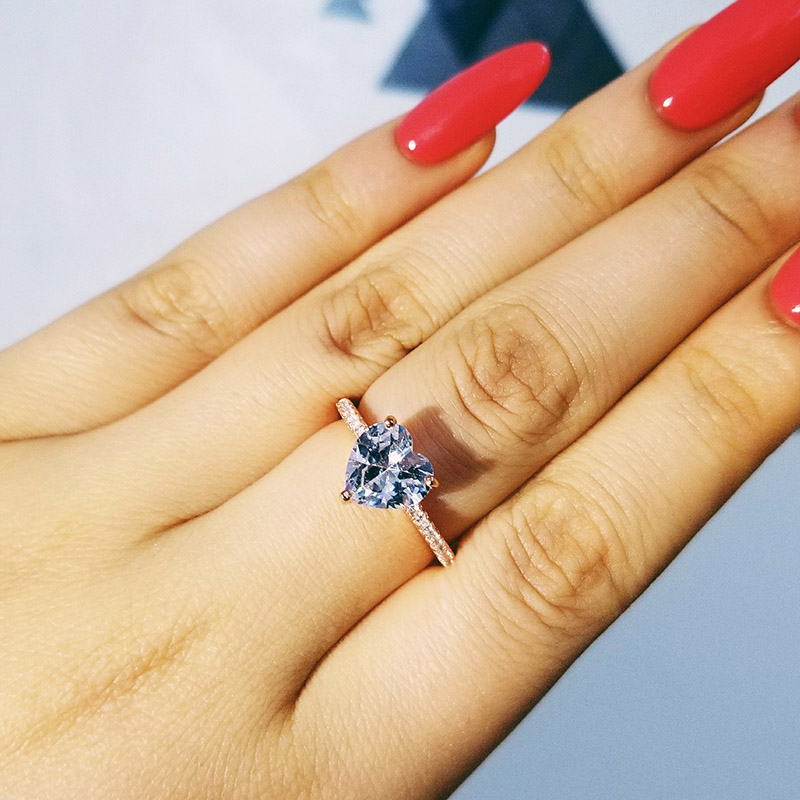 Aliexpress.com : Buy Solid 925 Sterling Silver Ring Finger