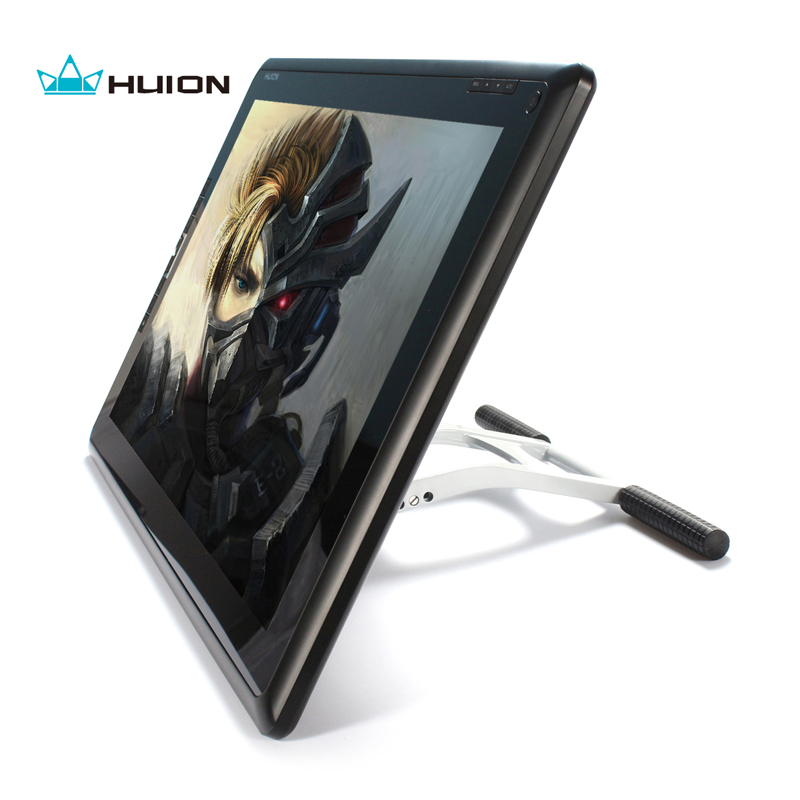 Hot Sale Huion GT-185 Pen Display Monitor Tablet Drawing Monitor Touch Screen Monitor Digital Graphic Panel LCD Monitors hot sale 4 lamp single port high pressure inverter board lcd screen panel monitor ccfl new 2017