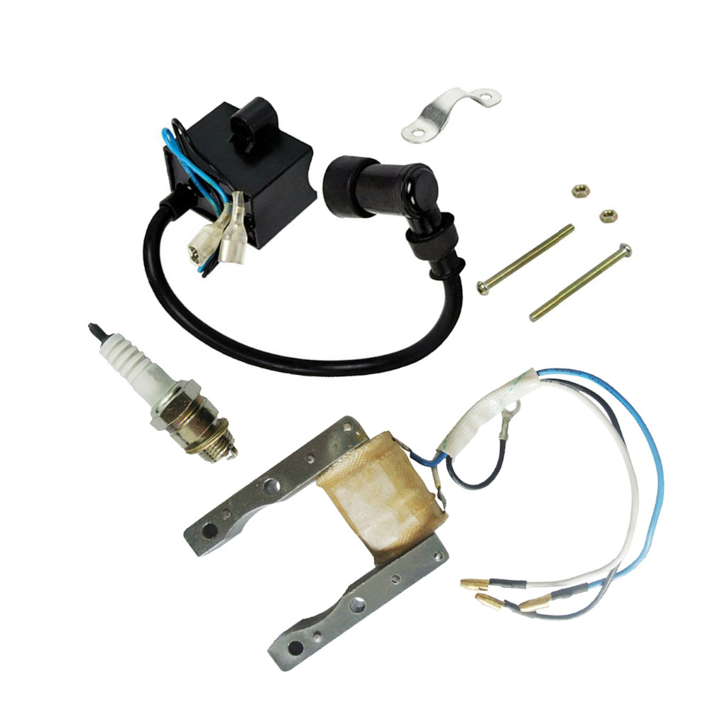 6V Ignition Magneto Coil For 50cc 66cc 80cc 2 Stroke Motorized Bicycle
