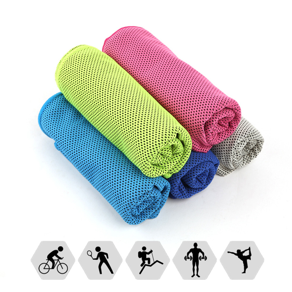 SKDK Sports Swimming Towel Quick Dry Quick Cooling Towels Fitness/Cycling/Yoga Wipe Sweat Towels Body Building Workout Gym