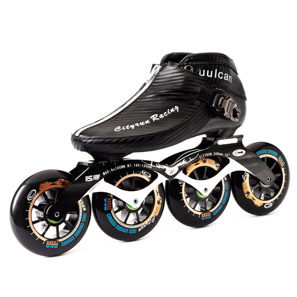 US $150 48 34% OFF Japy 2019 Cityrun Speed Inline Skates Carbon Fiber  Professional Competition Skates Racing Skating Patines Similar Powerslide  Zip-in