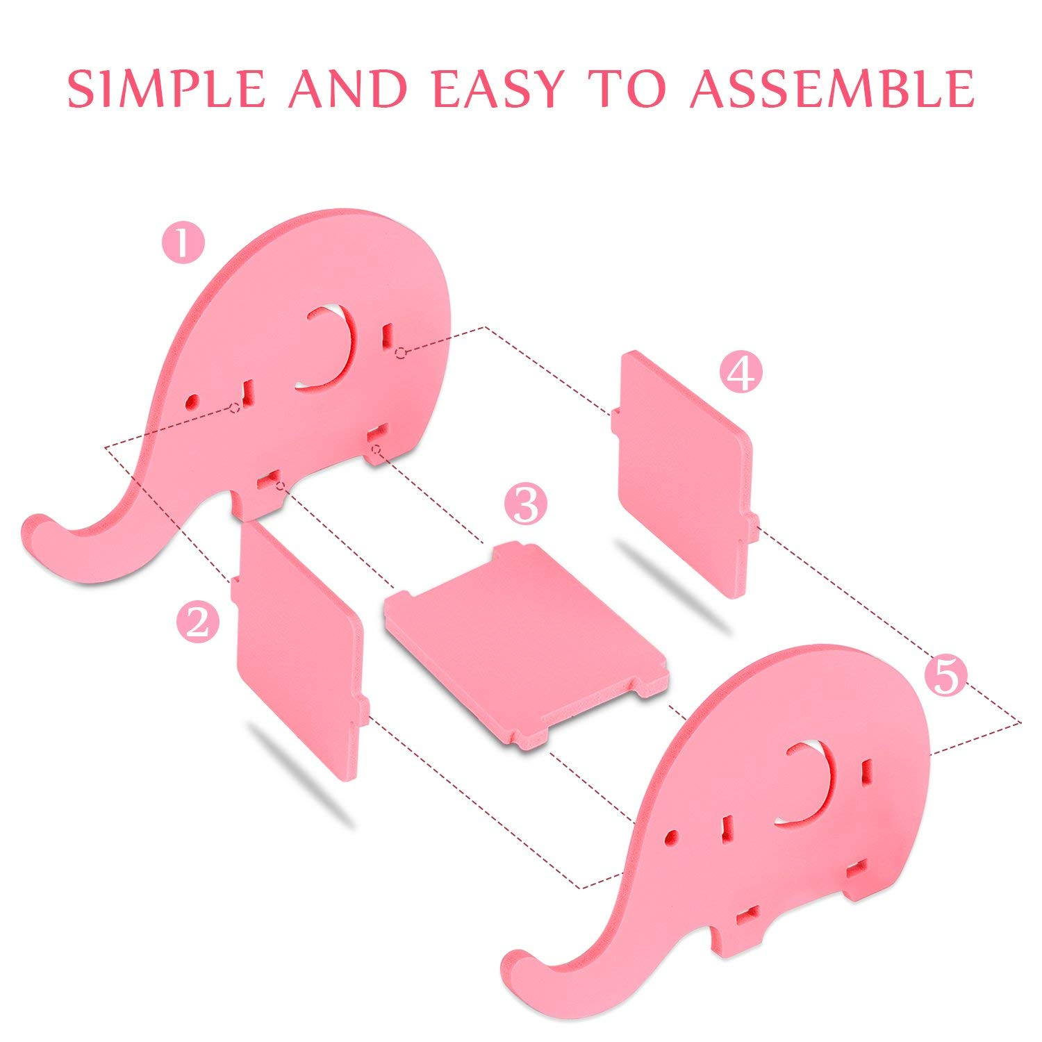 Pen Holders Office & School Supplies Cell Phone Stand Cute Elephant Phone Stand Tablet Desk Bracket With Pen Pencil Holder Compatible Smartphone Desk Decoration Mu