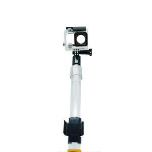 Image 3 - Lekki pływający teleskopowy słup wodoodporny uchwyt ręczny Selfie Stick na wodoodporna kamera Gopro Hero 5 czarny/sesja, Hero 4/