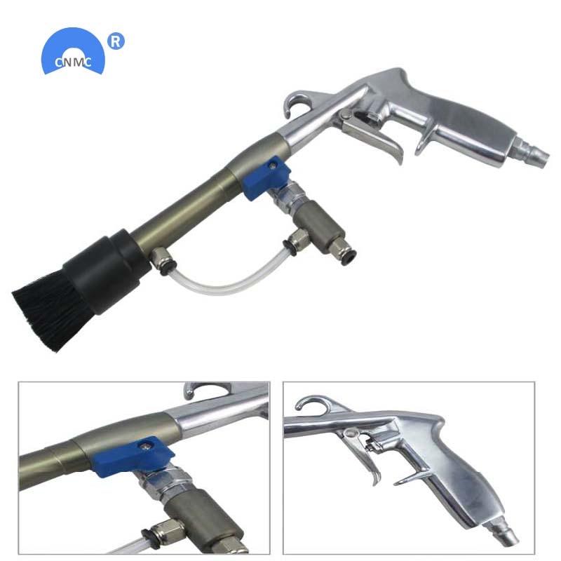 Car engine cleaning machine high quality aluminum alloy long rod interior cleaning gun car wash beauty foam gun