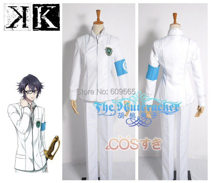 Free Shipping! K Wonderful School Days- HAKU Cosplay Costume ,Perfect Custom For you!