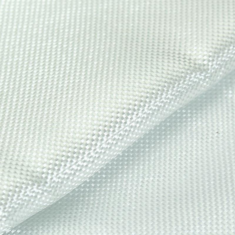 Fireproof White Fiberglass Cloth Woven Roving Cloth Glass Fiber Mesh Plain Weave