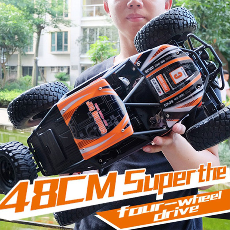 цена на LOZ RC Car 2.4G 1:14 Scale Rock Crawler Car Supersonic Monster Truck Off-Road Vehicle Buggy Electronic Toy rc car