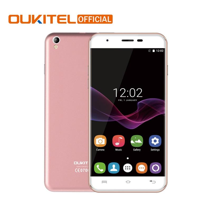 "bilder für Original Oukitel U7 Max MTK6580A Quad-Core-Handy Android 6.0 Dual SIM 5,5 ""1280*720 Handy 1G RAM 8G ROM Smartphone"
