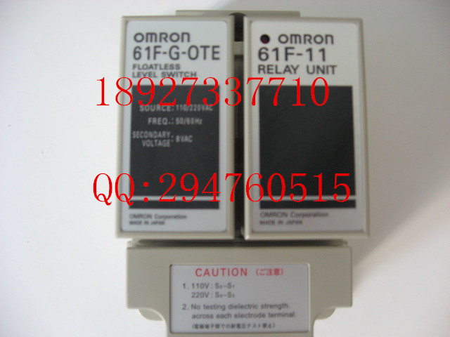 [ZOB] To ensure that new original authentic omron Omron level switch 61F-G AC110 / 220  --5PCS/LOT