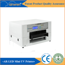 best quality uv printer for lego toys  plastic card printing machine