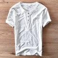 2017 recién llegado de manga corta del o-cuello blanco camiseta de algodón hombres de la marca de clothing verano para hombre t shirt casual tops camiseta camiseta