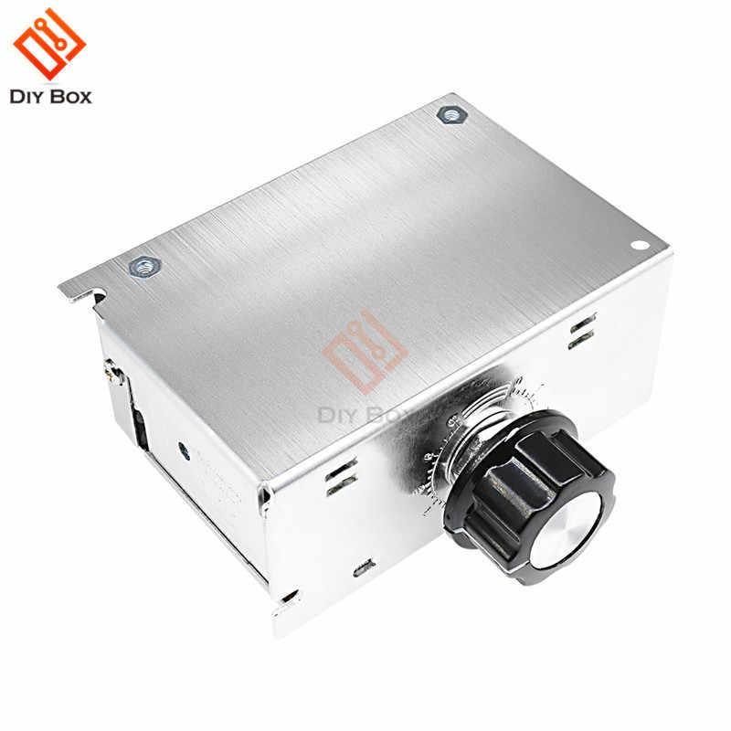 4000 ワット 220V AC の SCR モータ速度コントローラモジュール電圧レギュレータ温度調光電気炉水ヒーター LED ライト