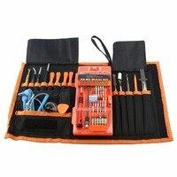 JAKEMY 74 in 1 Set di Utensili A Mano per iphone xiaomi smartphone strumenti di riparazione elettronica computer lavori di riparazione Tools Kit