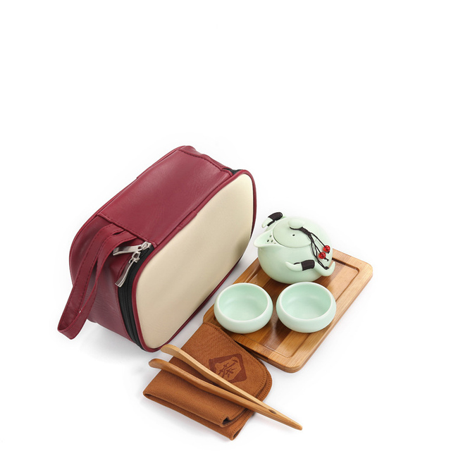 9 pcs Travel Chinese Tea Set