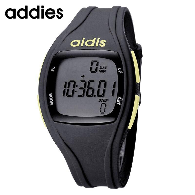 379e2d2cab4 Homens Mulheres Digital LED relógios de Pulso Relogio masculino feminino À Prova  D  Água Esporte