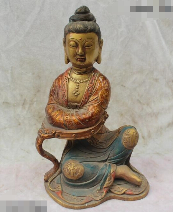 11China Chinese Buddhism Folk Old Purple Bronze Lucky homey Kwan-Yin Statue R0715 B040311China Chinese Buddhism Folk Old Purple Bronze Lucky homey Kwan-Yin Statue R0715 B0403