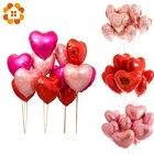 10PCS 18inch Heart S...