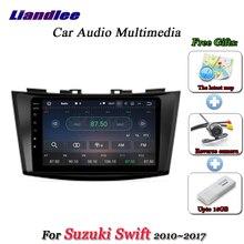 Liandlee Système Android De Voiture Pour Suzuki Swift 2010 ~ 2017 Stéréo Radio Vidéo BT FM Carte GPS Navi Navigation Multimédia pas de Lecteur DVD