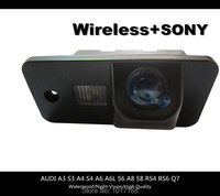 HD!! WIFI camera Wireless Car Rear View Camera SONY Chip For AUDI A3 S3 A4 S4 A6 A6L S6 A8 S8 RS4 RS6 Q7