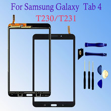 цены New For Samsung Galaxy Tab 4 7.0 SM-T230 SM-T231 Tab 3 T210 T211 Touch Screen Digitizer Glass Sensor Panel Tablet PC Replacement