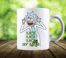 Lecken Mein Bälle Rick und Morty becher keramik Tee milch wein bier tassen tee tasse freund geschenke neuheit Jahrestag Geschenke