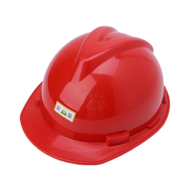 Safety Helmet Warehouse Worker Hard Hat Breathable Plastic Insulation Material
