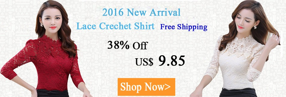 Lace Crechet Shirt