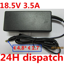 18.5V 3.5A 4.8*1.7mm 65W AC Laptop Charger Power Adapter Replacement For HP Compaq 6720s 500 510 520 530 540 550 620 625 G3000