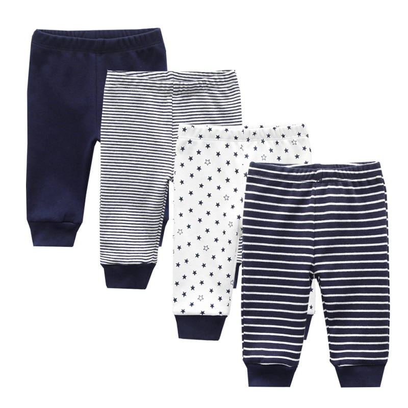 Casual Toddler Bottoms Pants Infant Cartoon Pants Baby Boy Girl Trousers(China)