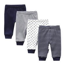 Spodnie dresowe dla niemowląt spodnie dla niemowląt spodnie kreskówkowe dla niemowląt tanie tanio kiddiezoom COTTON Na co dzień Elastyczny pas Wysoka Pasuje prawda na wymiar weź swój normalny rozmiar Pełnej długości
