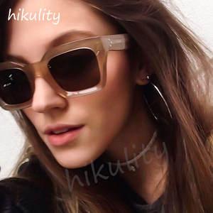 e851528c4e4 hikulity Vintage Sunglasses Women 2018 Ladies Sun Glasses
