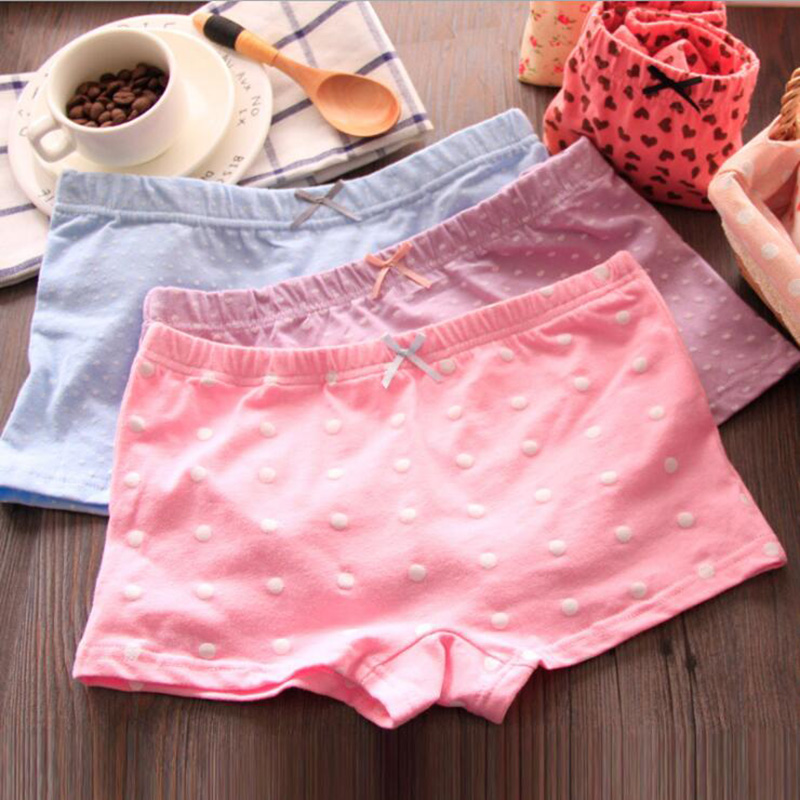 Hot ladies shorts cute print sexy girl's boxer cotton comfortable breathable womens underwear   panties