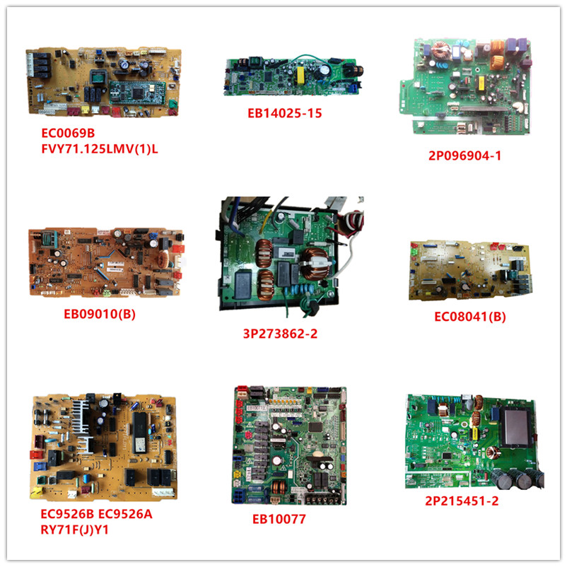 EC0069| EB14025-15| 2P096904-1| EB09010(B)| 3P273862-2| EC08041(B)| EC9526B RY71F(J)Y1 EC9526 A| EB10077| 2P215451-2 Used