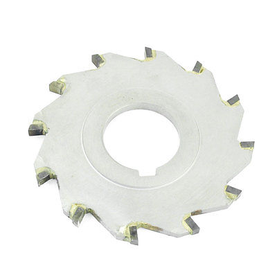External Dia. 80mm x 27mm x 4/6/8/10/12/14mm Thickness 10T/12T Hard Alloy Round Grooving Slitting Saw Blade Miller Cutter