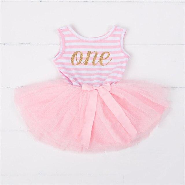 Verano niña vestido de la marca para la edad 10 12 18 24 meses Niña ...