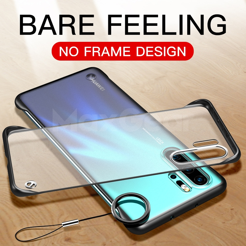 Case Bumper Hybrid Honor Huawei P20 Pro-Lite Mate 10 P30 Nova 3 Crystal-Cover for Clear