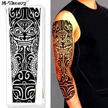 M-Theory 3D მაისური ყდის დროებითი ჯადოსნური ტატუ სტიკერი წყალგაუმტარი Henna Flash Tattoo Body Arts საცურაო კოსტუმები ტატუ მაკიაჟის ხელსაწყოები