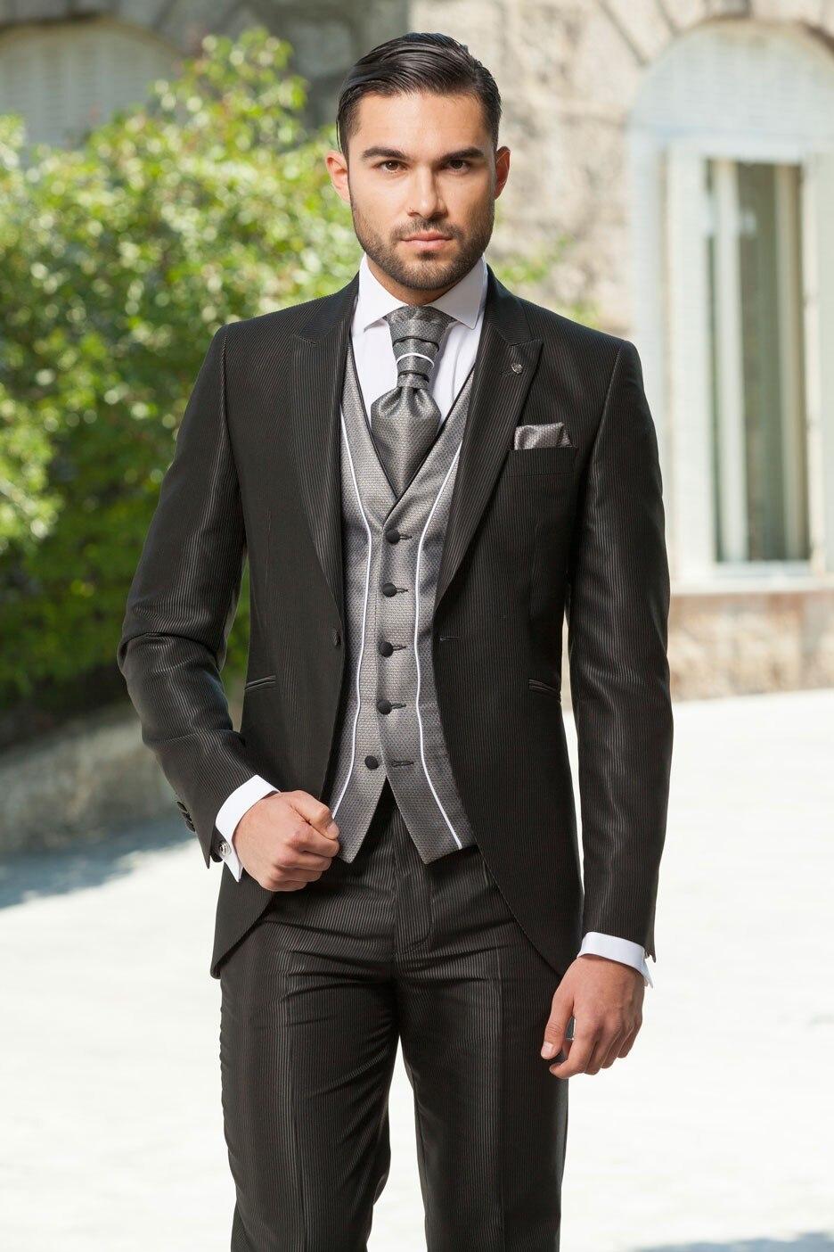 2018 high quality fashion men suits!Married men slim dress, man coat ...
