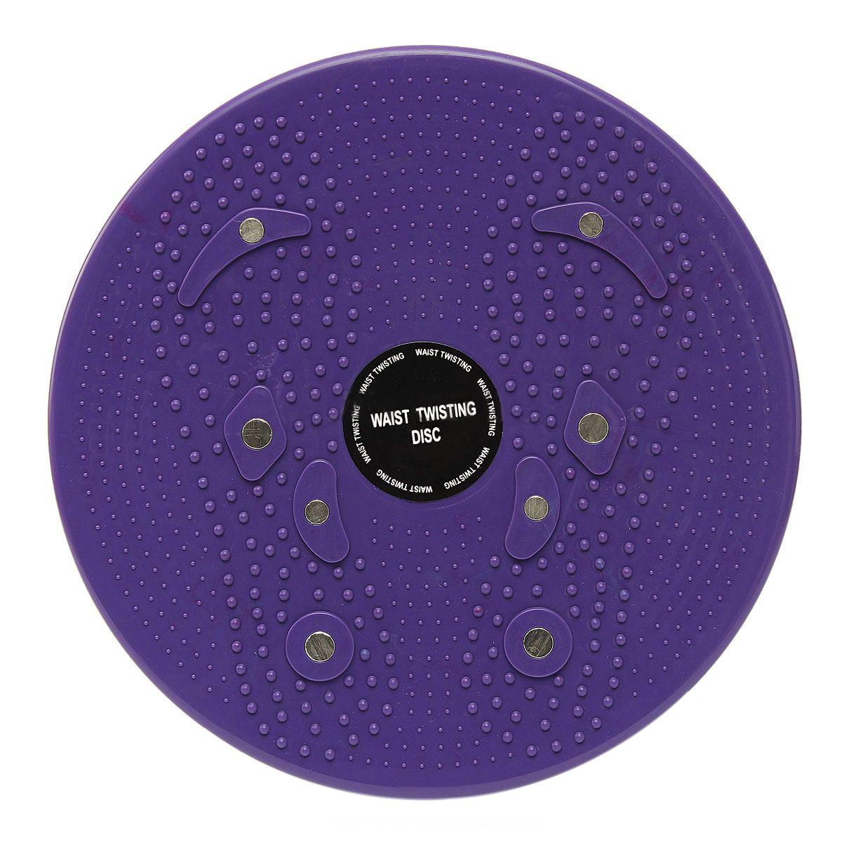 JHO-Twist Taille Torsion Disc Bord Aerobic Fitness Reflexzonenmassage Magneten Lila