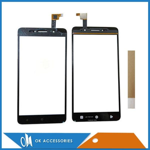 Черный цвет для Alcatel One Touch Pixi 4 8050E 8050 OT-8050G OT8050 сенсорный экран с цифровым преобразователем и липкой лентой 1 шт./лот.