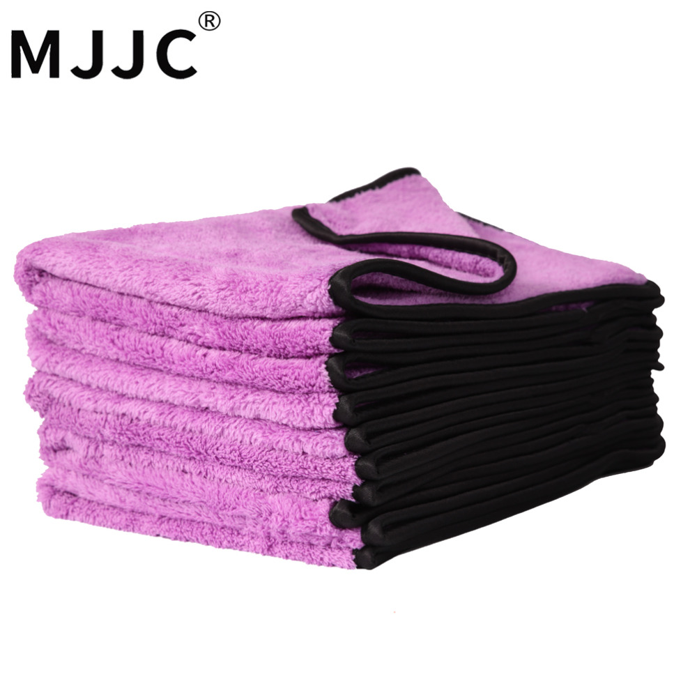 MJJC 40*60 cm Super Absorbent Car Wash Microfiber Towel Car Cleaning Drying Cloth Hemming Car Care Cloth Detailing Towels ultrafine absorbent towel used to clean the car