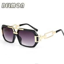 BELMON Fashion Sunglasses Men Women 2016 Luxury Brand Designer Sun Glasses For Male Ladies Oculos Photochromic UV400 Retro RS164