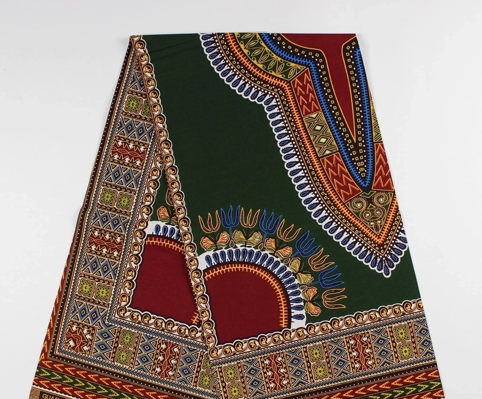 high quality Women s Traditional African Dashiki wax fabric dutch best wax  block print wax 6yards 100% cotton hollandais dress-in Fabric from Home    Garden ... 318fc12719
