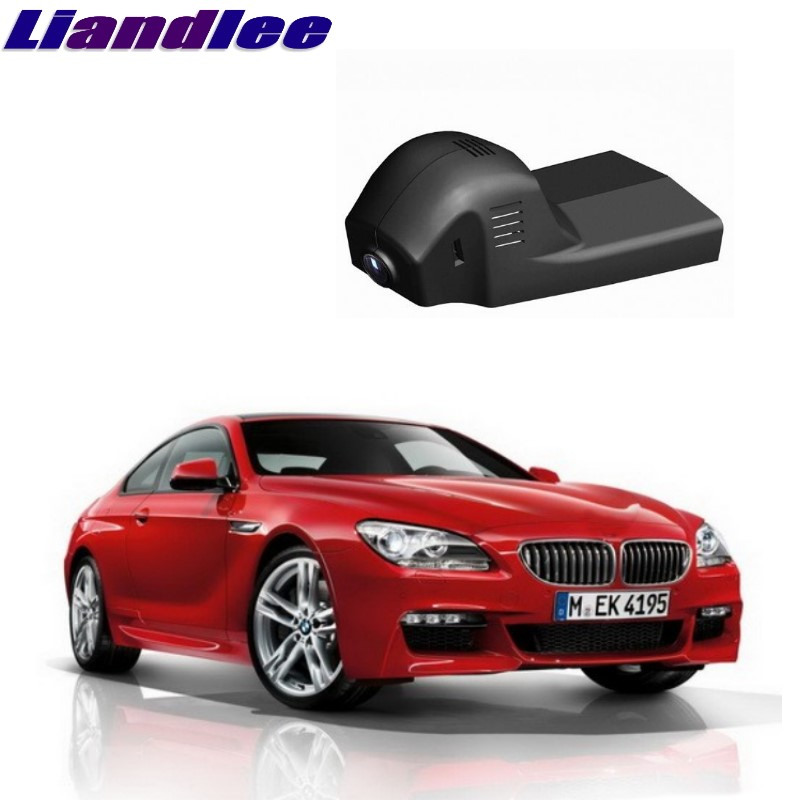 Liandlee For BMW 6 M6 F12 F13 2011~2017 Car Road Record WiFi DVR Dash Camera Driving Video Recorder image