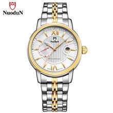 купить Mens Watches Nuodun Luxury Brand Casual Quartz Watch Men Classic Stainless Steel Wristwatch Date Waterproof Relogio Masculino по цене 1023.86 рублей