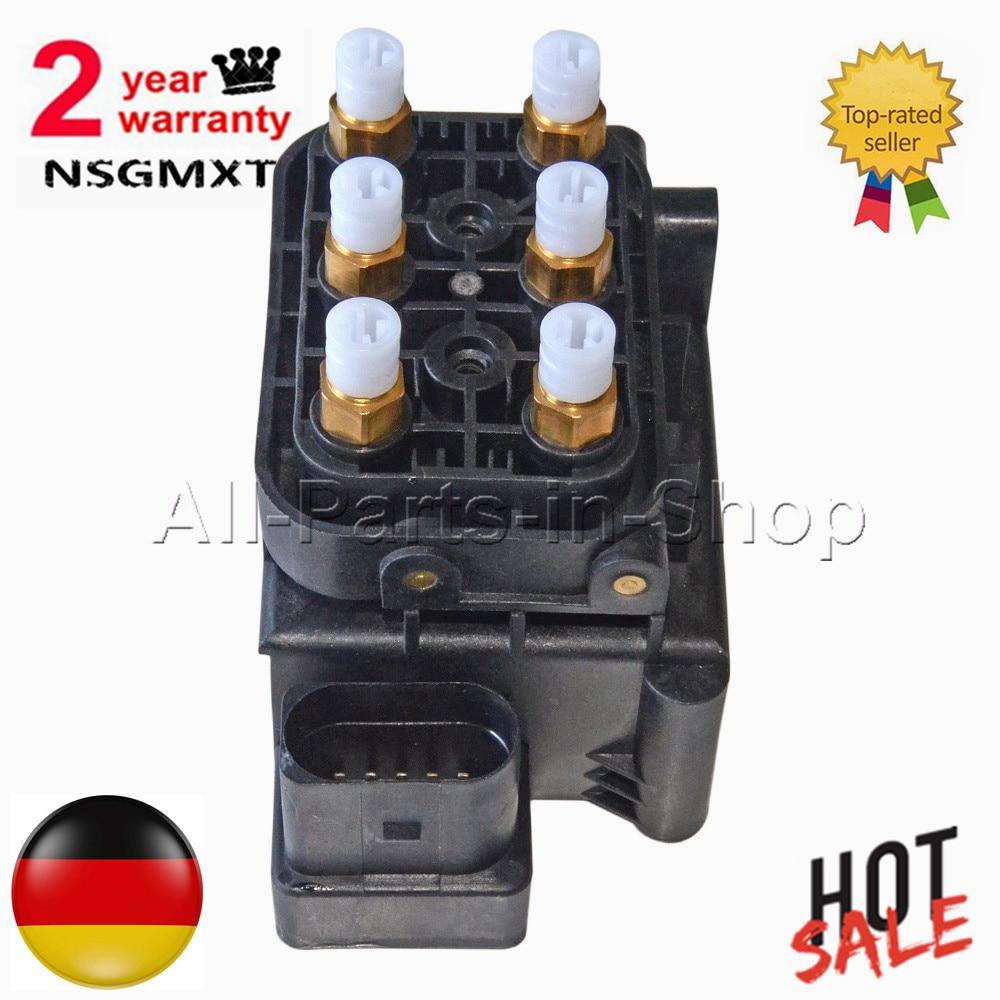 AP01 nouveau bloc de soupape Suspension pneumatique alimentation pour Audi Allroad A6 (C6) Quattro A8 (D3) S8 (D3) 4F0616013 4Z7 616 013 4Z7616013