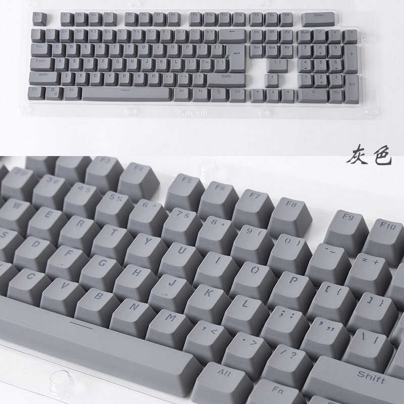 8d543ae459e ... Russian/English Languag PBT Keycaps Variety Of Color Choices For Cherry  MX Mechanical Keyboard Key ...