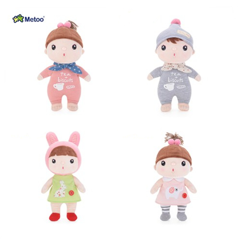 Genuine Metoo unique high quality sweet cute standing posture bean doll baby plush and lovely metoo bean plush toy for kids