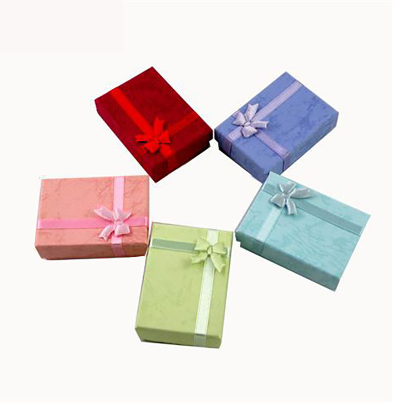 20pcs/Lot Paper Jewelry Boxes For Jewelry Display-Rings, Small Watches, Necklaces, Earrings, Bracelet Gift Box By Random send